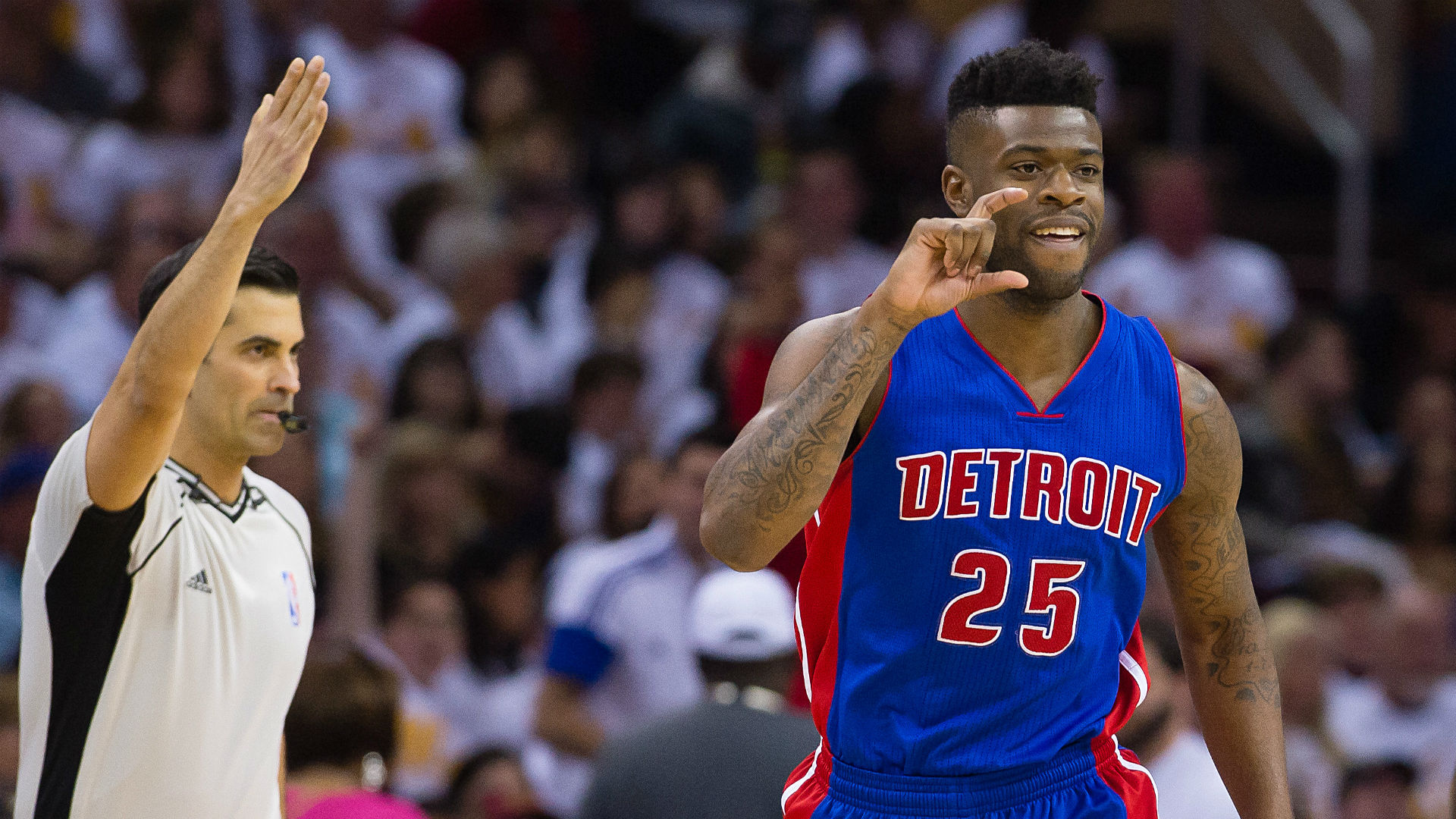 Detroit Pistons guard Reggie Bullock suspended for drug violation