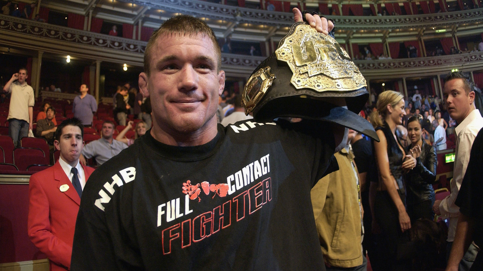 UFC great rushed to hospital after truck collides with train
