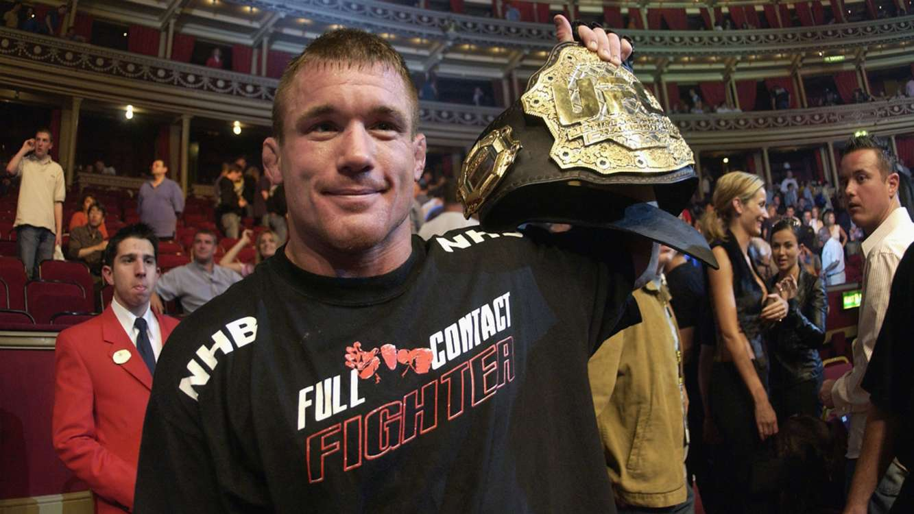 Former UFC champion hospitalised after colliding with train