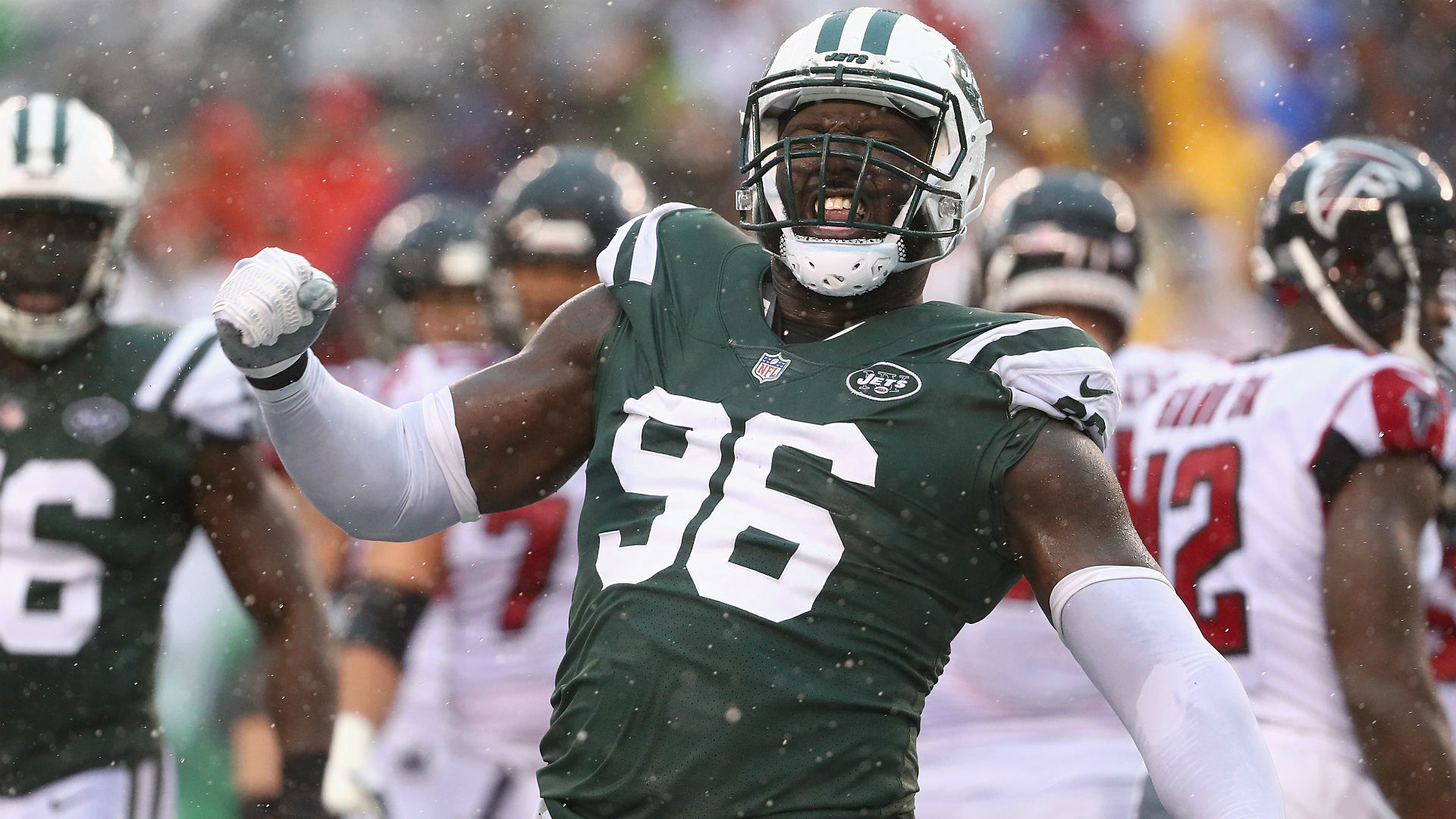 Jets DL Muhammad Wilkerson out Sunday due to 'coach's decision'