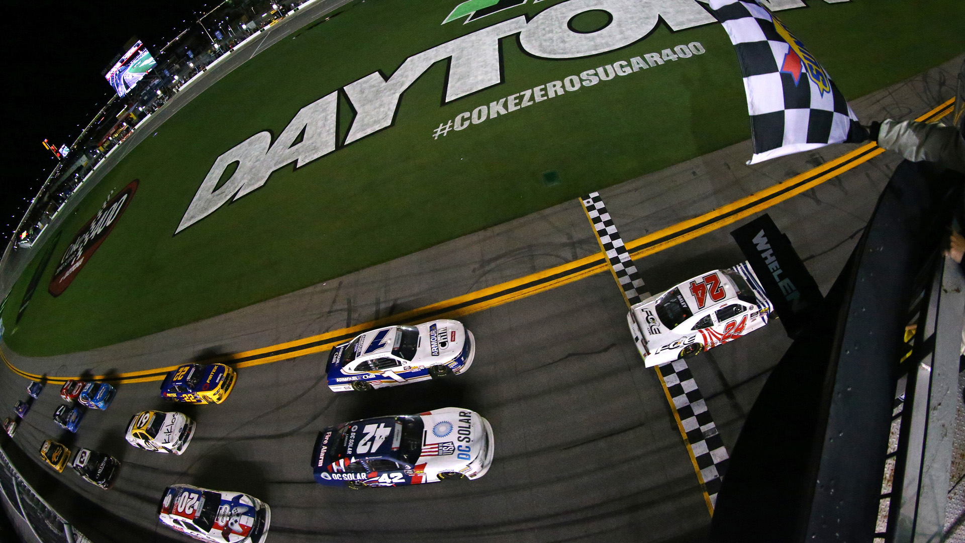 NASCAR at Daytona: Subway Firecracker 250 ends with 2 drivers celebrating victory with only 1 actual winner