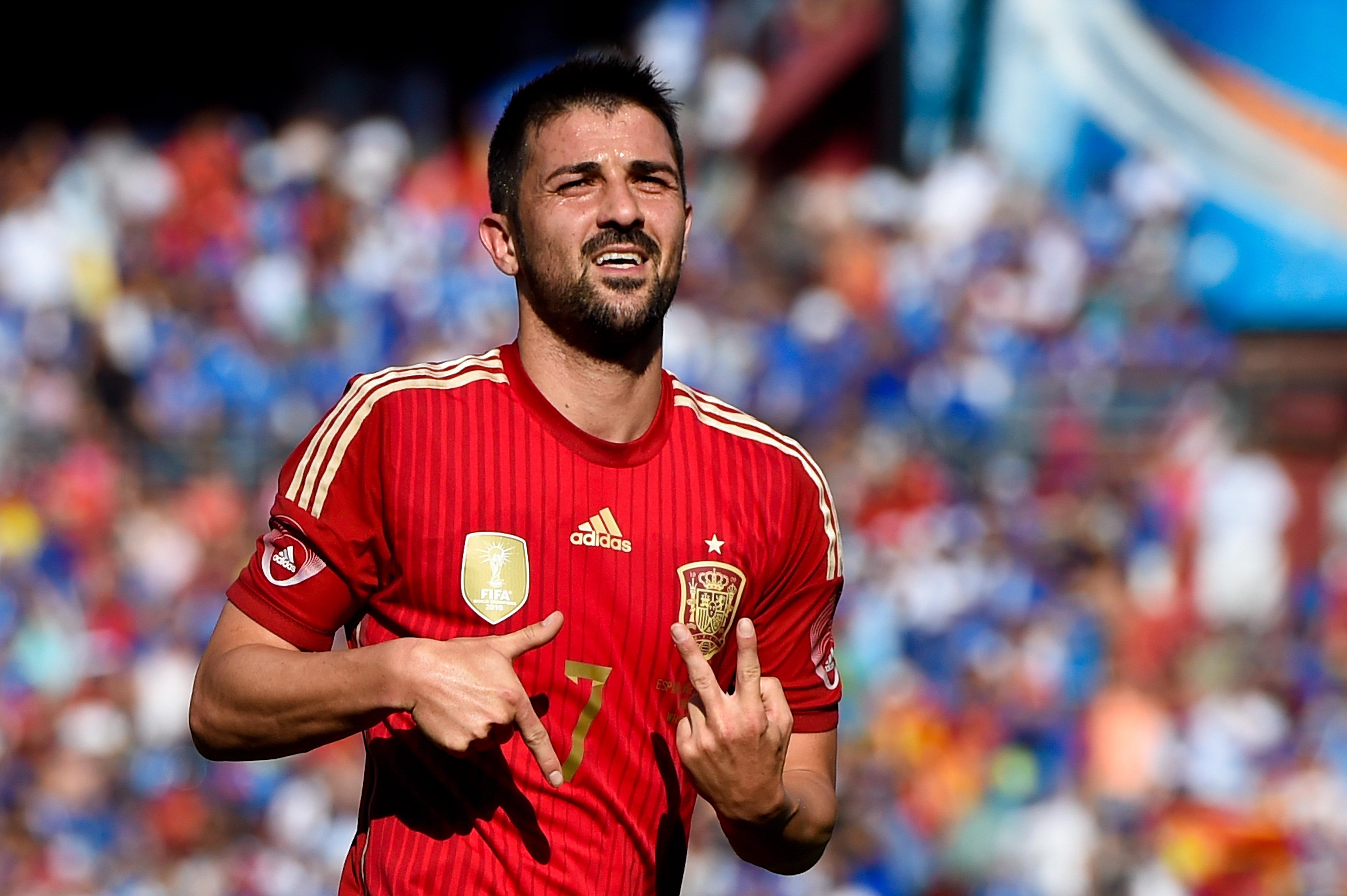 David Villa Spain 2014 Football | David Villa Spain