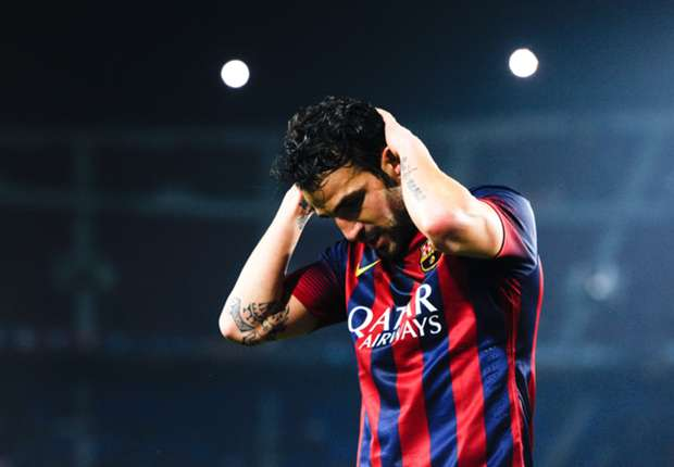 Barcelona: Fabregas performances got worse each season