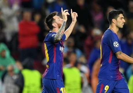 Gol Ke-100 Messi Tandai Kemenangan Barca