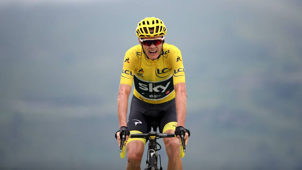 Tour de France 2017: Chris Froome battles back to stay in ...