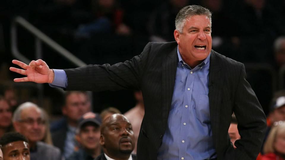Auburn coach Bruce Pearl