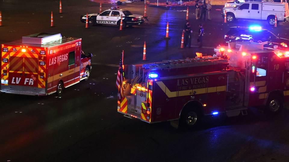 Las Vegas first responders