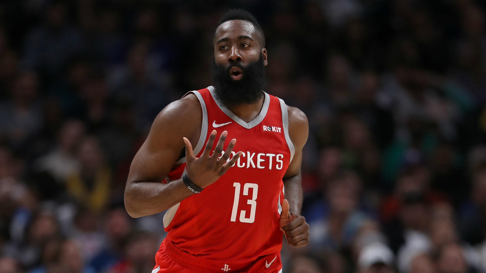 James Harden reflects on Rockets' three-mendous night