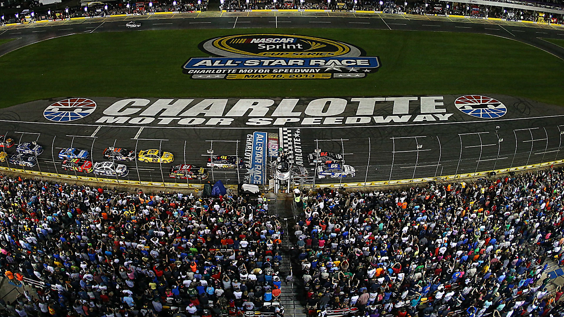 All star race at charlotte motor speedway for Tickets to charlotte motor speedway