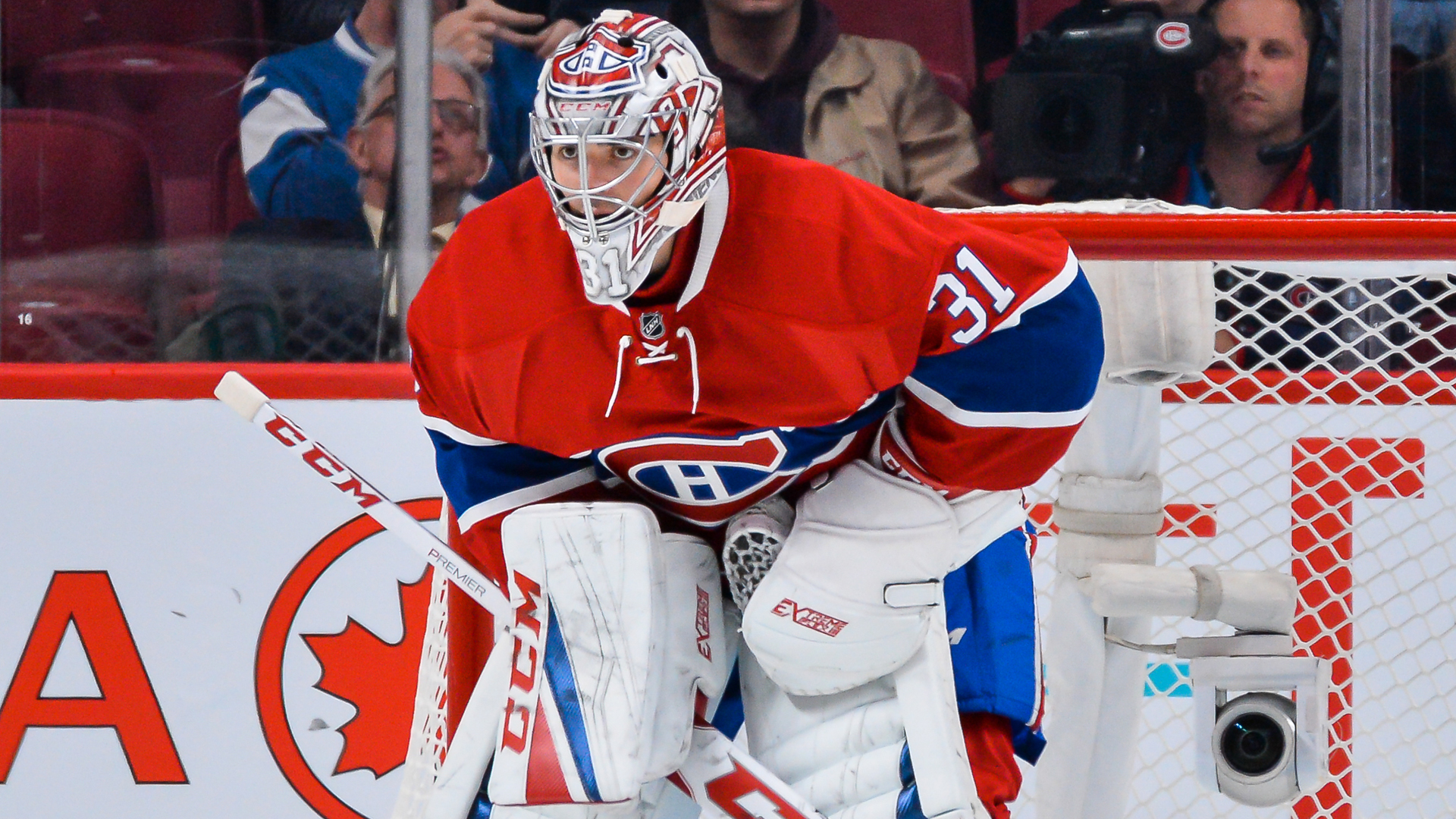 Habs sign Carey Price to an eight year extension