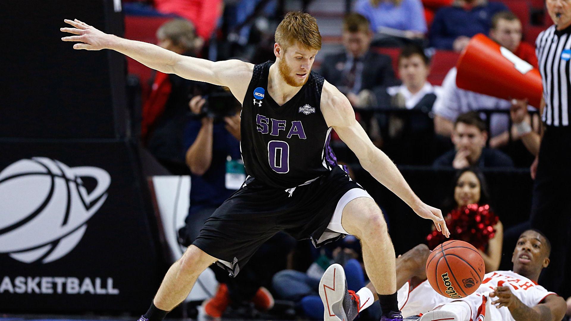 Sfa Basketball Thomas Walkup