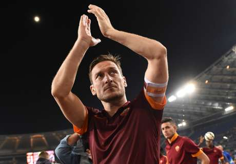 The numbers behind Totti's career
