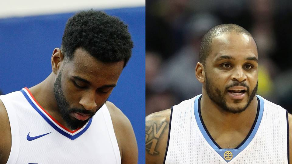 Willie Reed (left) and Jameer Nelson