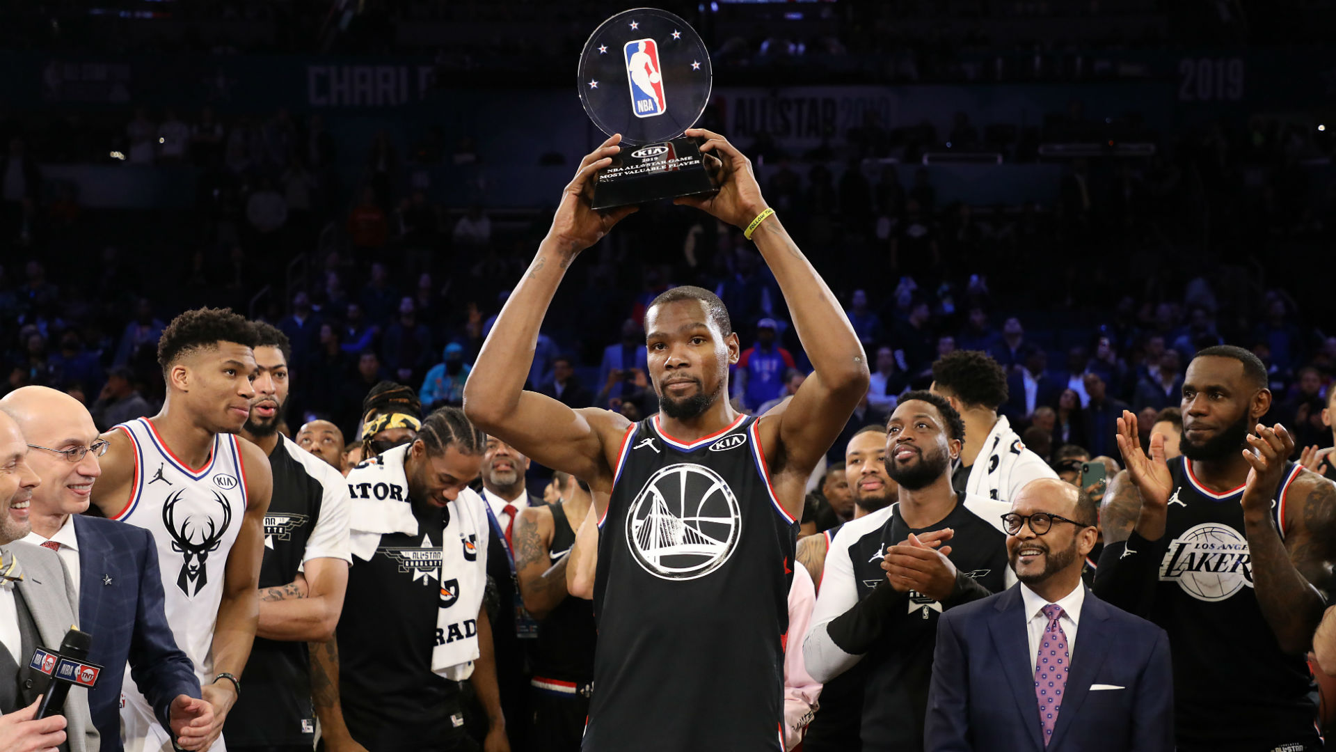 Kevin Durant wants more after 2nd All-Star MVP: 'I'll try to keep racking them up'