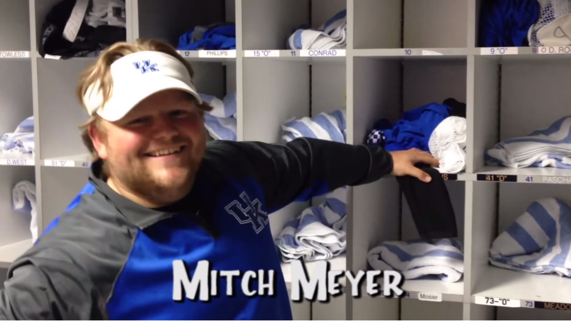 Kentucky football managers create 'Full House' intro video