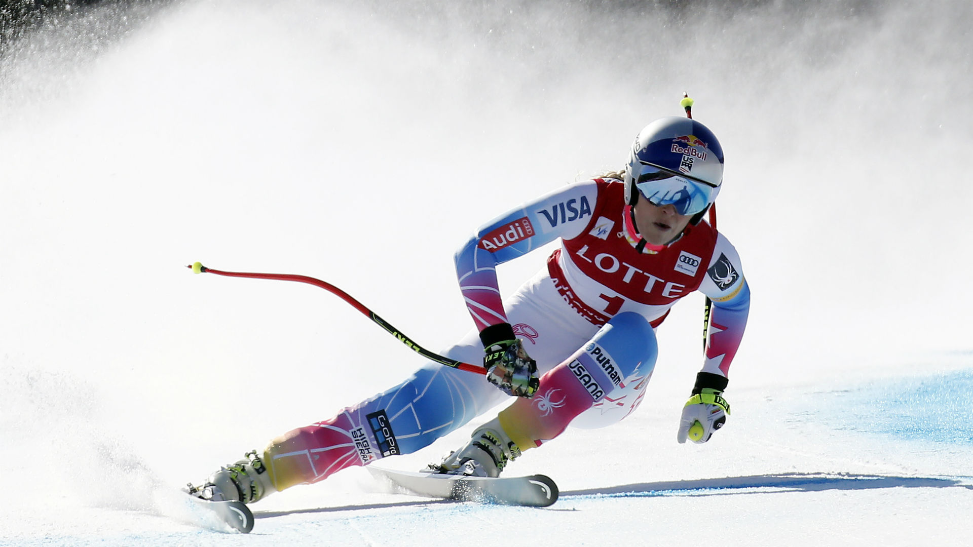 Vonn 3rd in last Olympic DH; her pal Goggia of Italy wins
