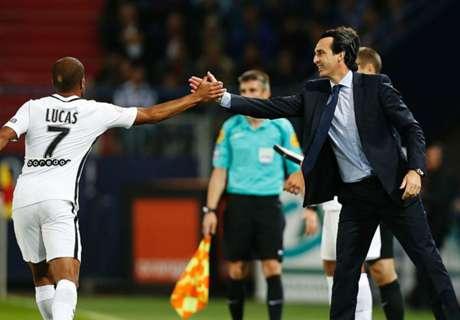 Emery hails PSG mentality