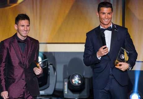 Ronaldo: Messi Bukan Teman Saya