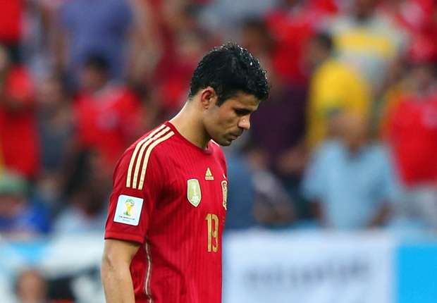 Diego Costa, Gerrard and more: The five biggest flops of the World Cup