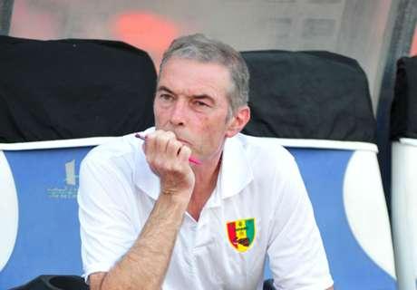 Guinea coach leaves after Ghana defeat