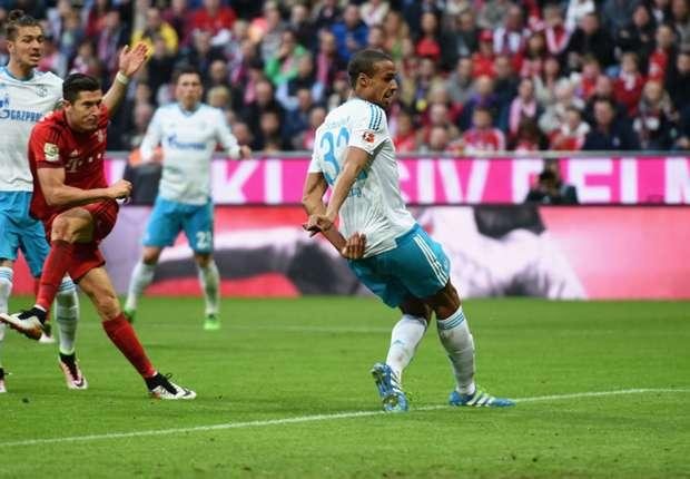 Image result for Bayern 3-0 Schalke