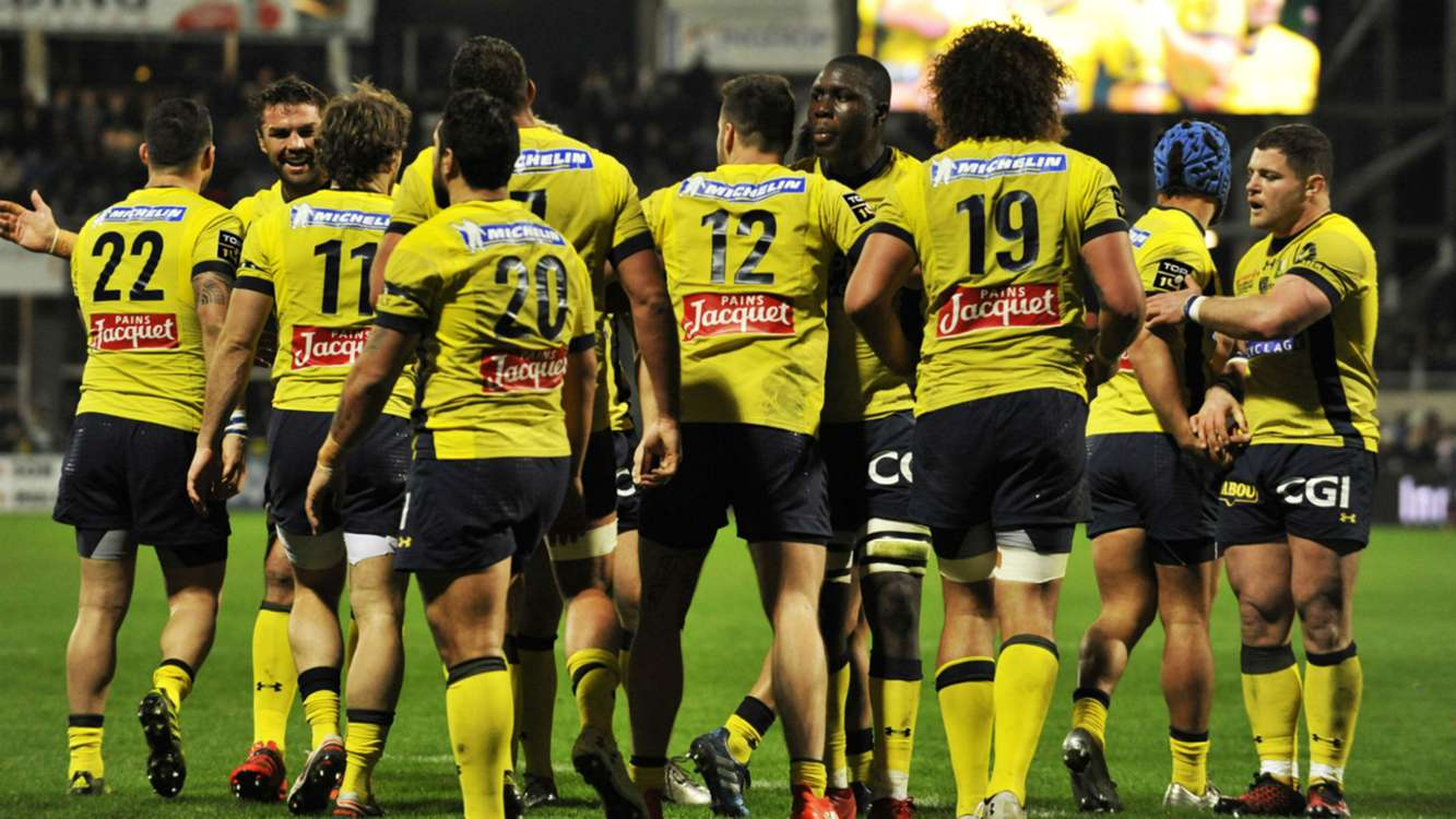 rugby clermont auvergne beat bayonne to lead top 14 table sportal. Black Bedroom Furniture Sets. Home Design Ideas