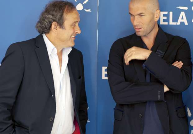 Zidane a perfect fit for Monaco, says Platini