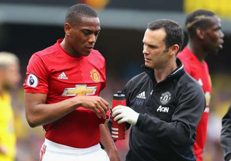 Martial to miss Leicester clash