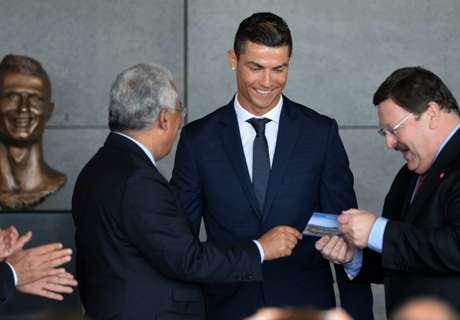 Dijadikan Nama Bandara, Ronaldo Bangga
