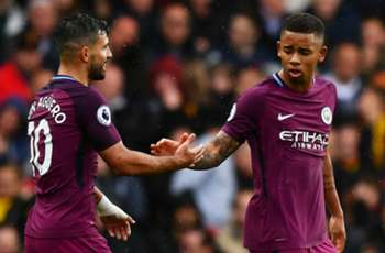 Aguero and Jesus partnership delights Guardiola