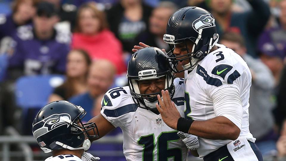 927248d8e Seahawks WR Tyler Lockett has achieved perfection with Russell Wilson —  literally
