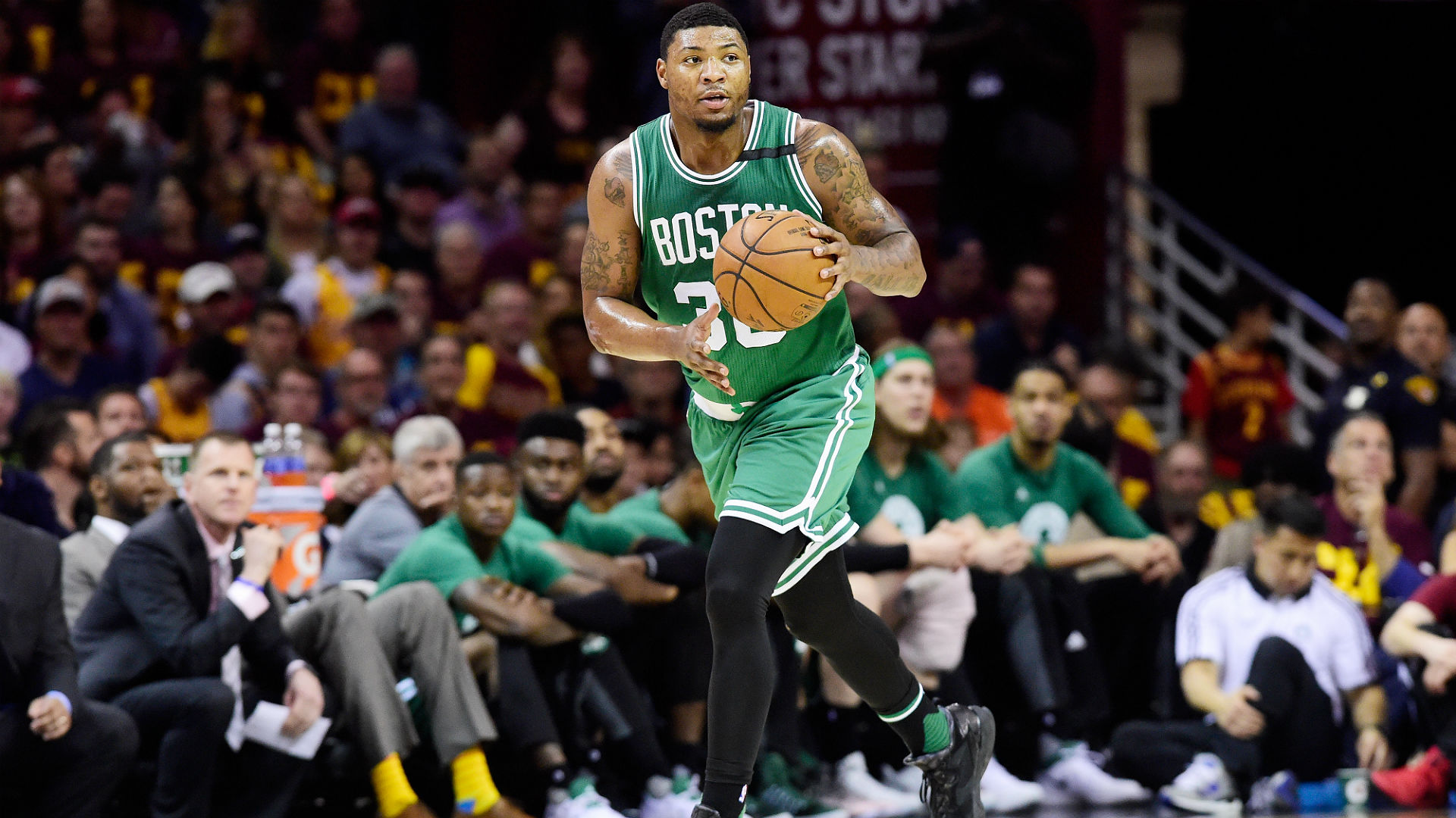 The Celtics Will Bring Marcus Smart Back On A Four-Year Deal