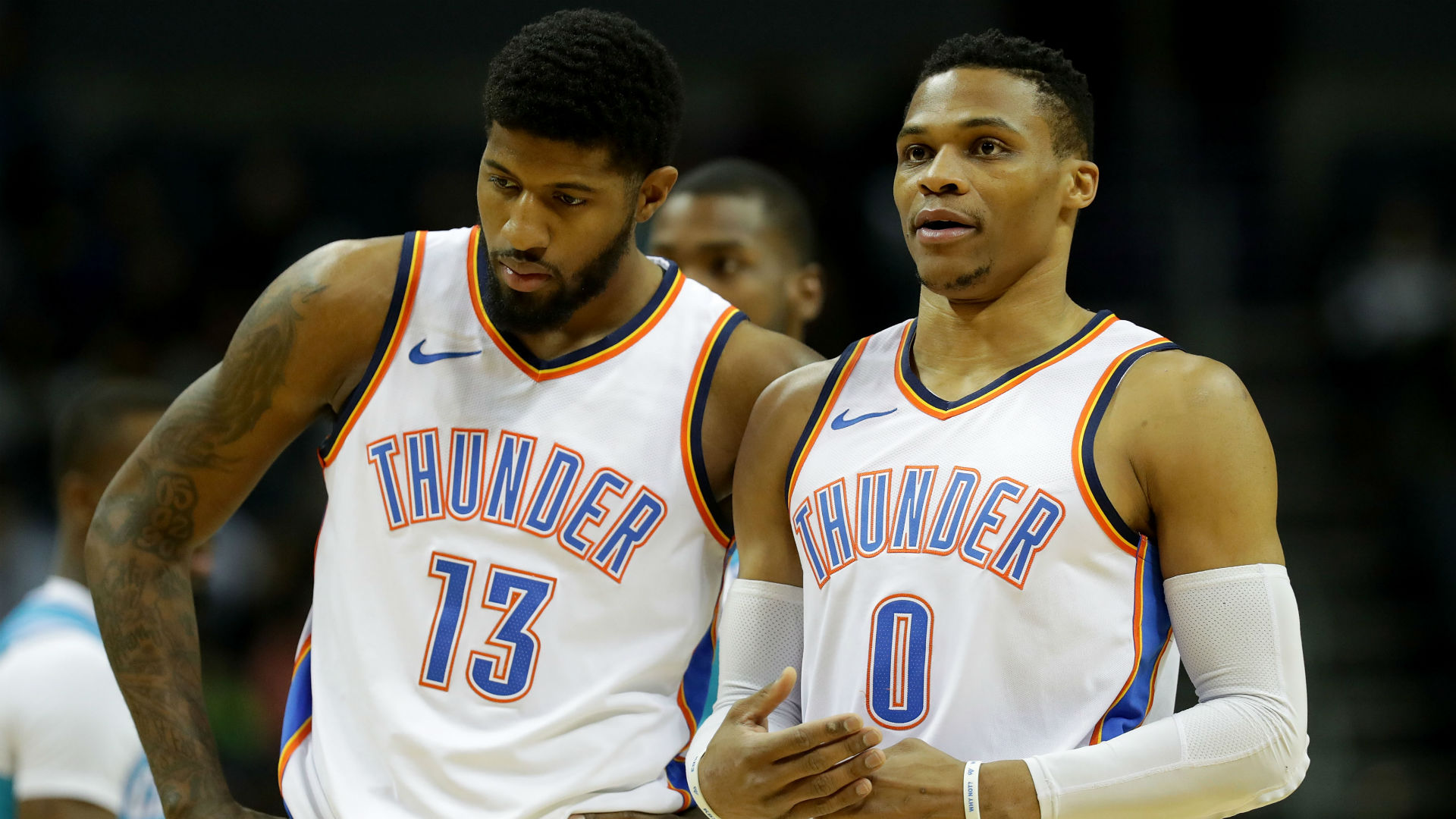 Free agency decision 'easier' thanks to Russell Westbrook's character — Paul George