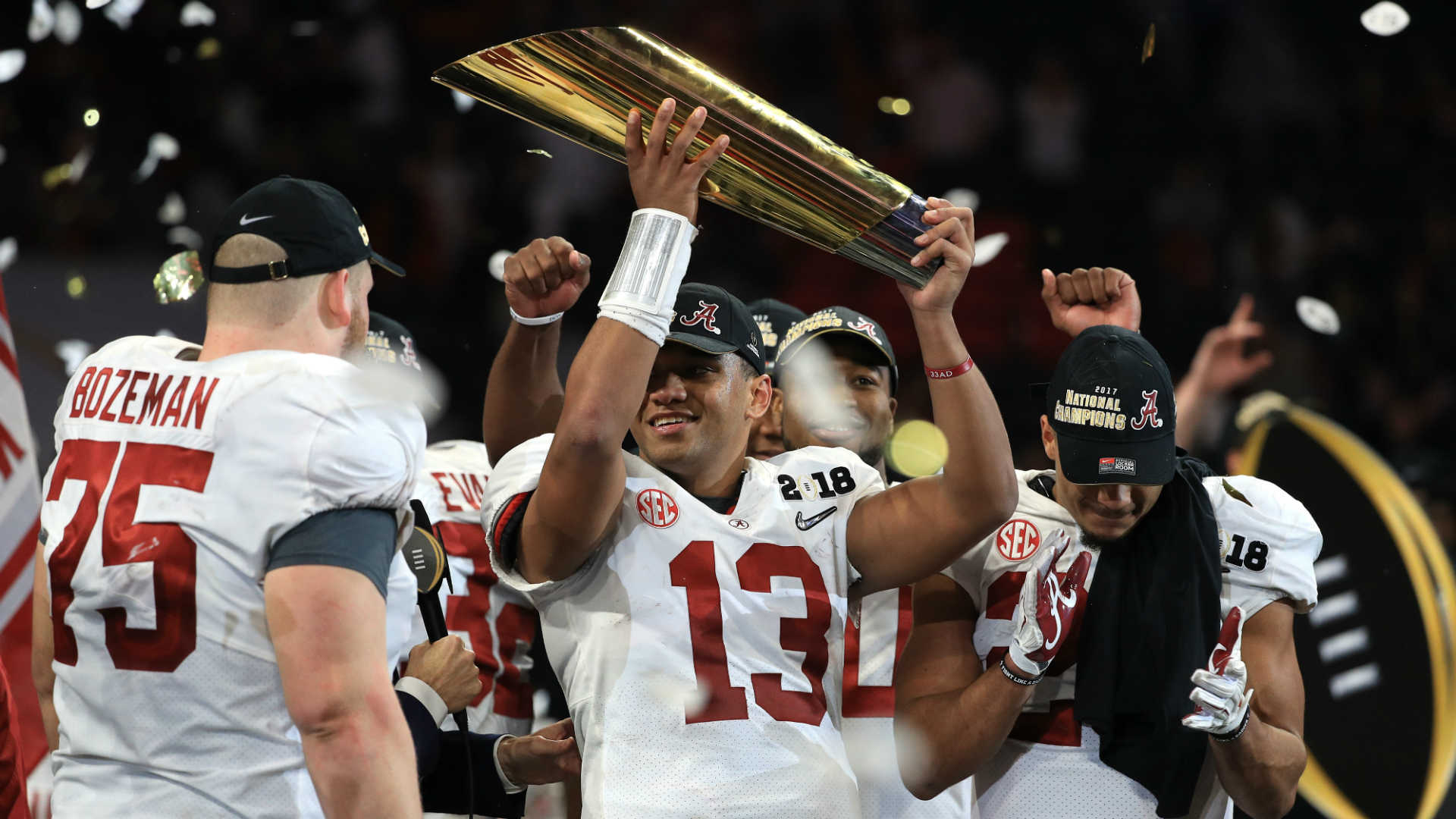 Alabama wins 2017-18 CFP National Championship
