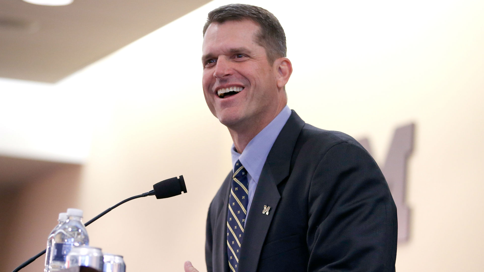 Jim Harbaugh finishes fourth in Michigan student government election