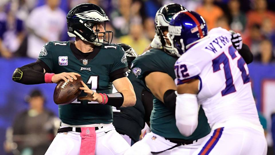 Three takeaways from the Eagles' win over the Giants