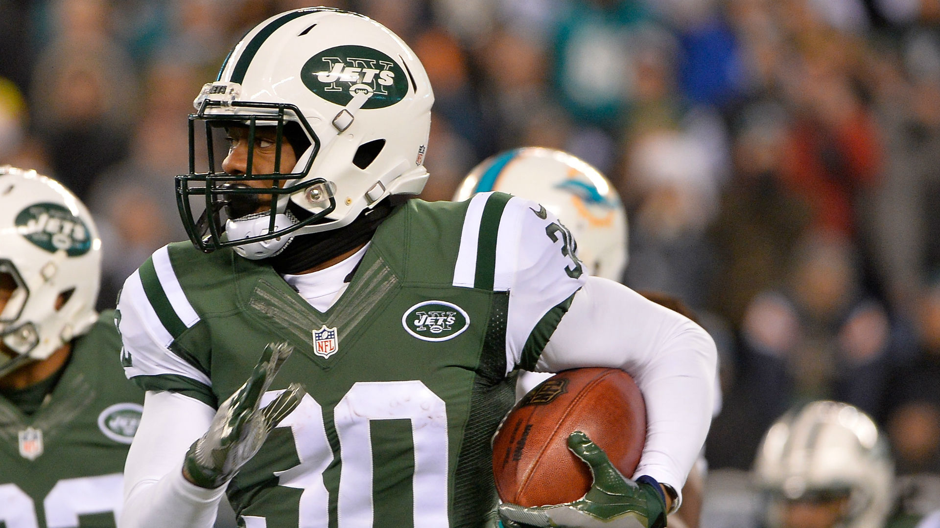 National Football League suspends Jets defensive back Nick Marshall four games