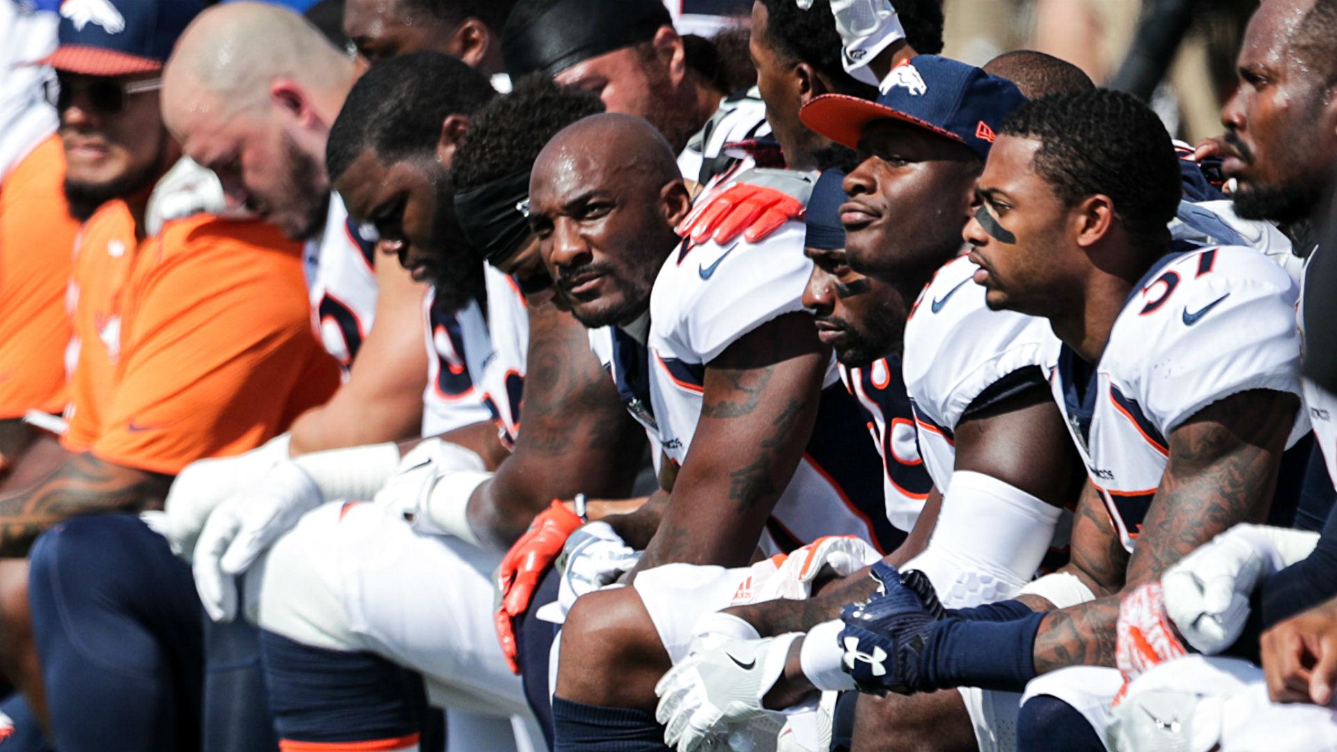 Broncos players release statement regarding Trump comments