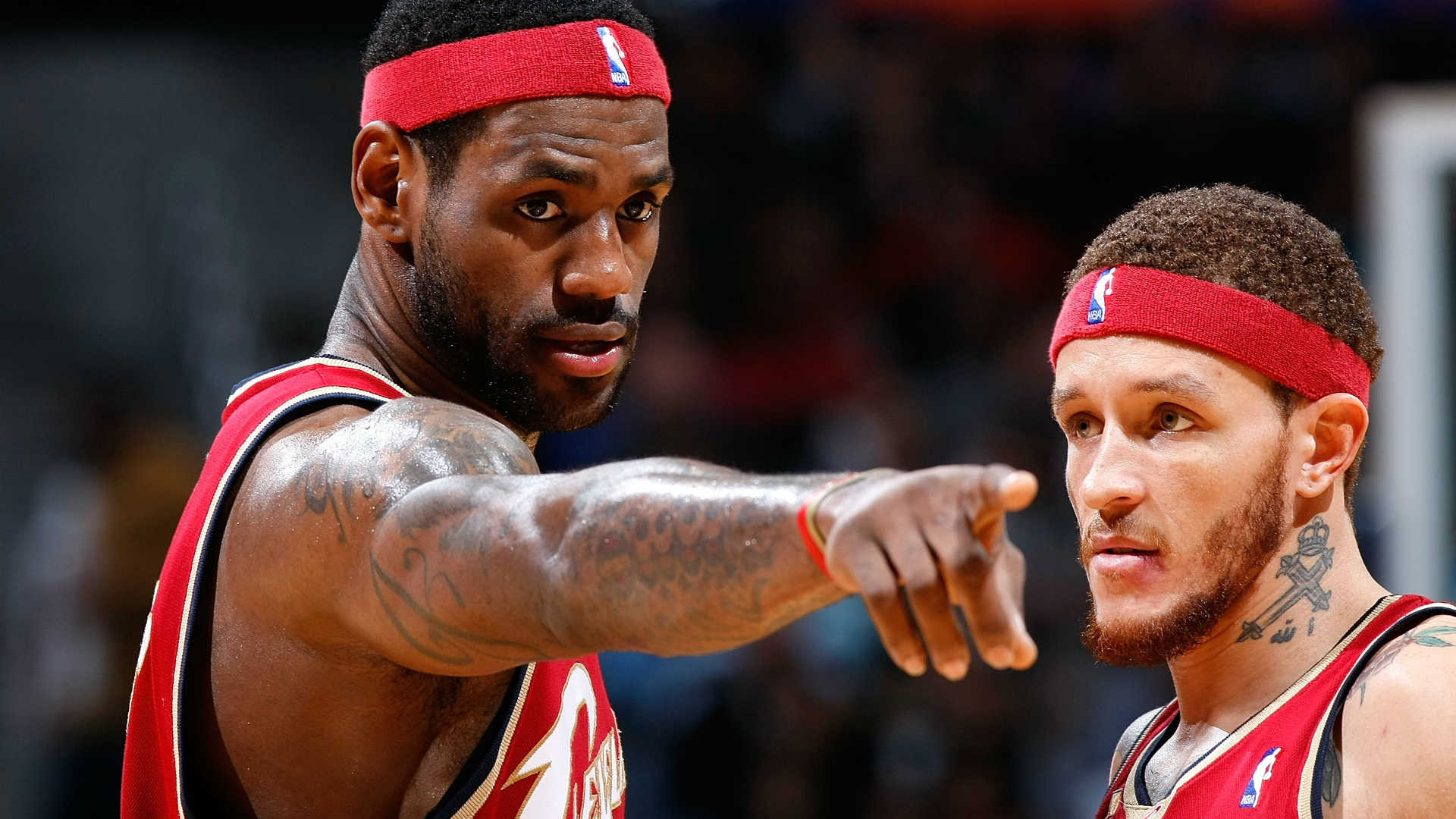For the love of LeBron, ex-Cav Delonte West pulling for his former team | NBA | Sporting News
