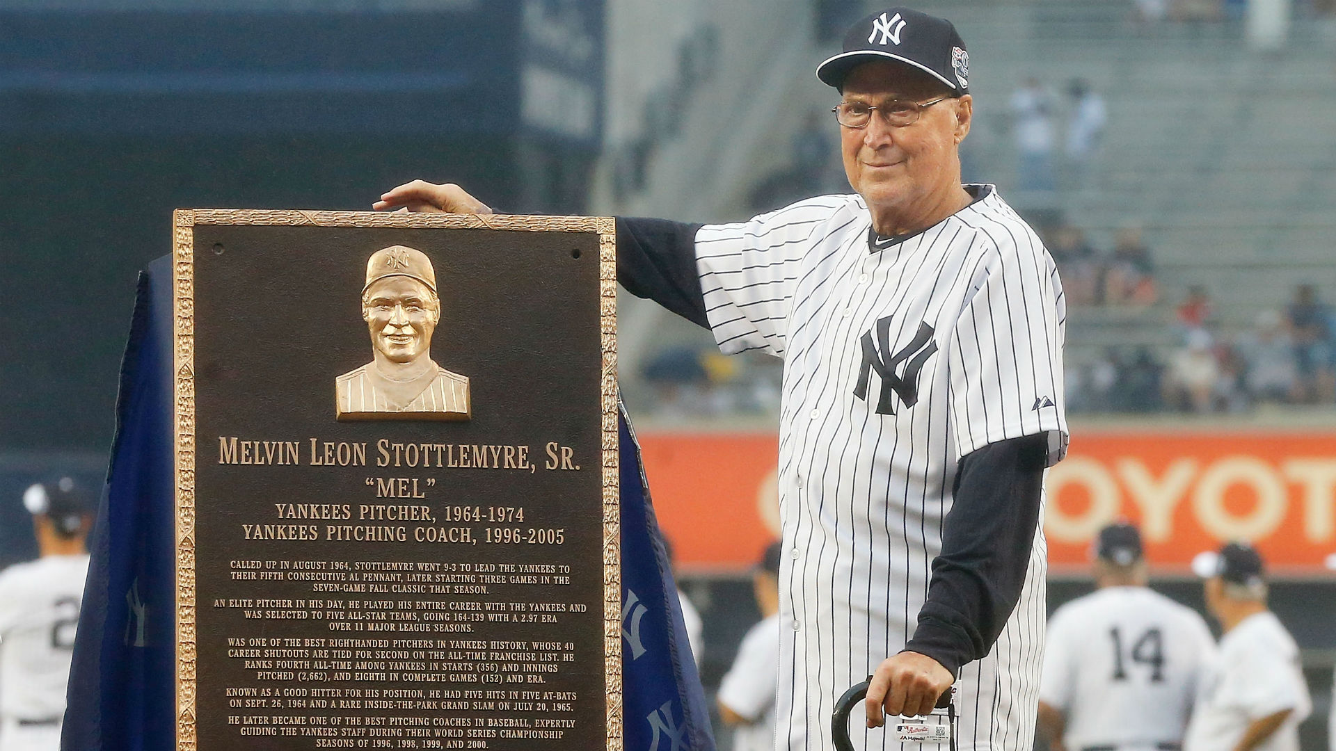 Former ace, longtime pitching coach Mel Stottlemyre dies at 77