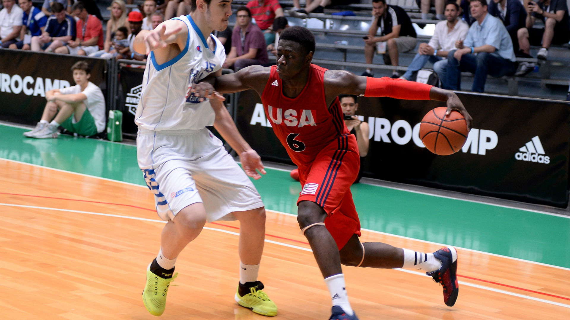 Rawle Alkins leads Team Rose over Team Wall at adidas Nations
