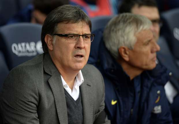 Martino insists 'faultless' Barcelona can win treble