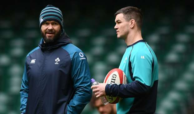Andy Farrell and Johnny Sexton - cropped