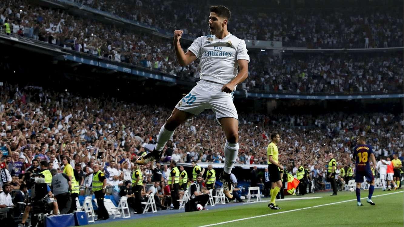 Real Madrid 2 Barcelona 0 (5-1 agg): First-half Barca failings settle Supercopa