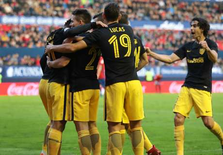 Simeone delighted with Atletico