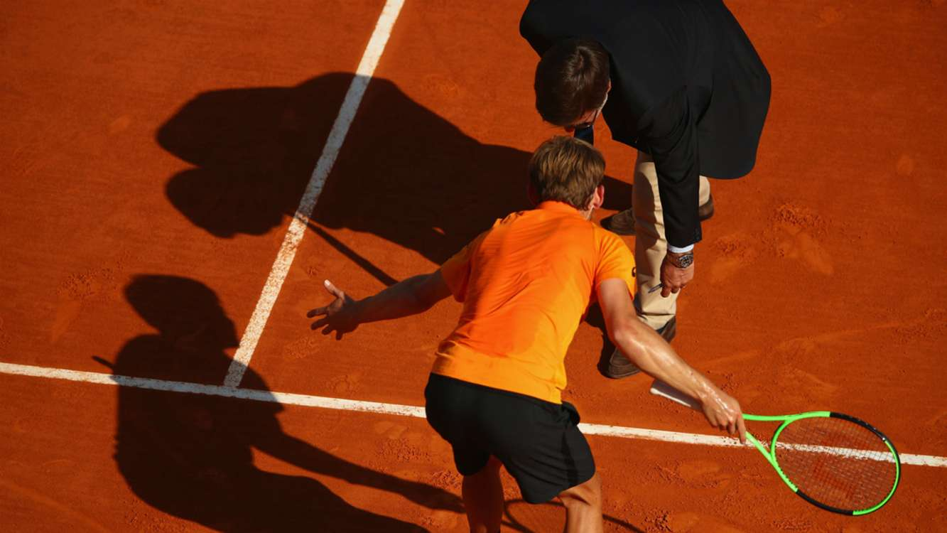 WATCH: Nadal reaches Monte Carlo final after umpire howler rattles Goffin