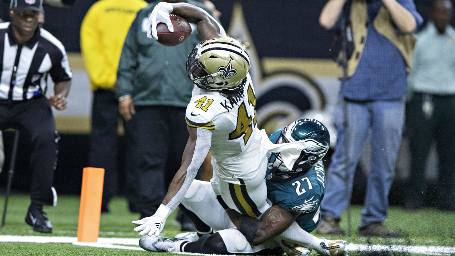 Malcolm Jenkins Flipped Off Sean Payton After Late Touchdown