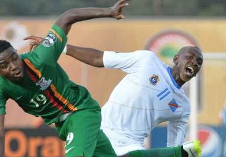 Résumé de match, Zambie-RD Congo (1-1)