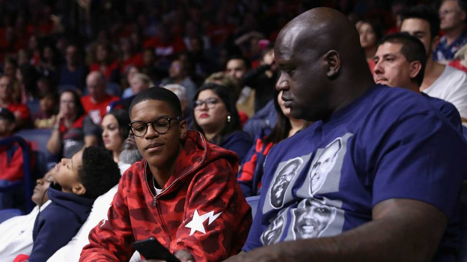 Shareef and Shaquille O'Neal