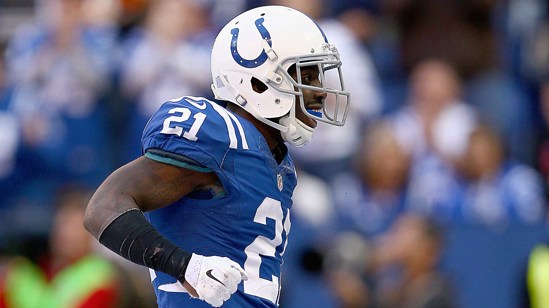 Chris Ballard: Vontae Davis was cleared medically, hasn't played very well